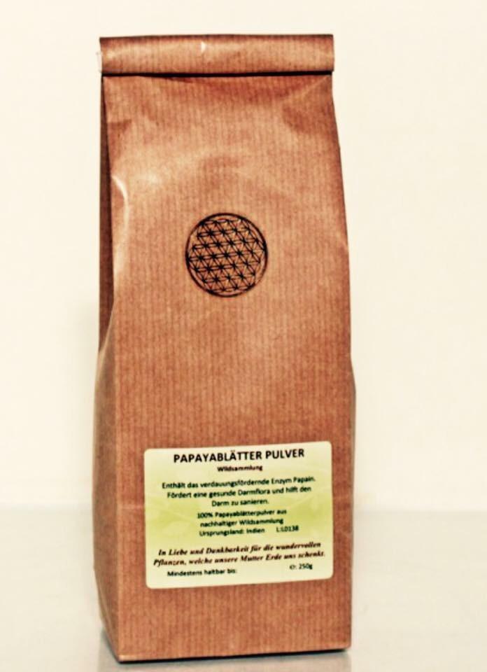 Superfood Papayablattpulver