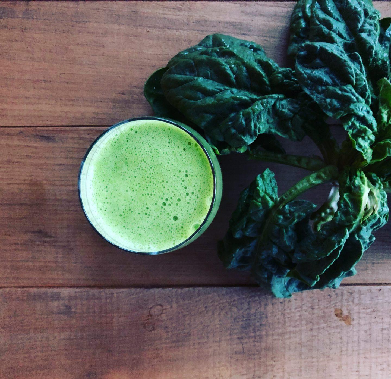 Green Smoothie für Einsteiger – Klassiker mit Spinat und Banane